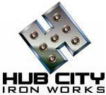 Hub City Iron Works Logo
